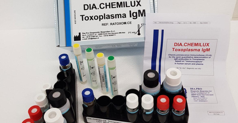 Dia.pro CHEMILUX Toxo IgM